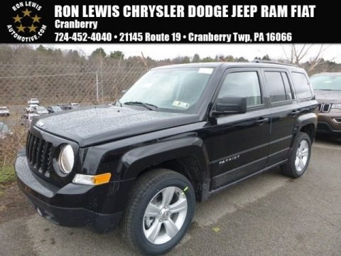 Black 2017 Jeep Patriot Latitude 4x4
