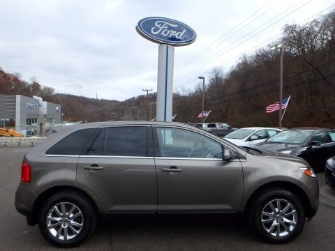 Mineral Grey Metallic 2012 Ford Edge Limited AWD