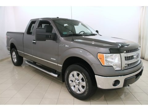 Sterling Gray Metallic 2013 Ford F150 XLT SuperCab 4x4
