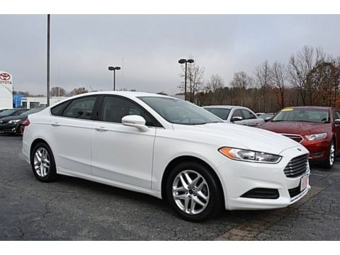 Oxford White 2014 Ford Fusion SE EcoBoost