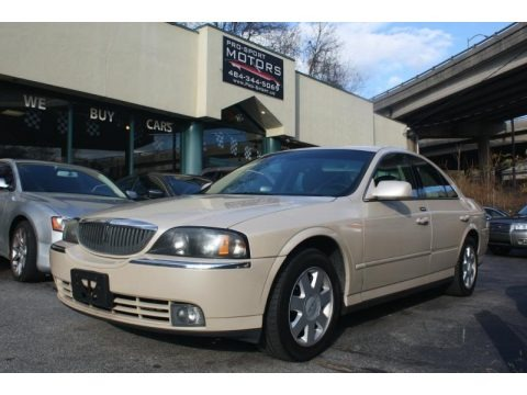 Ivory Parchment Metallic 2003 Lincoln LS V6