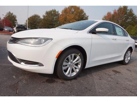 Bright White 2017 Chrysler 200 Limited