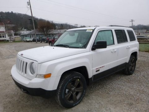 Bright White 2017 Jeep Patriot Sport 4x4