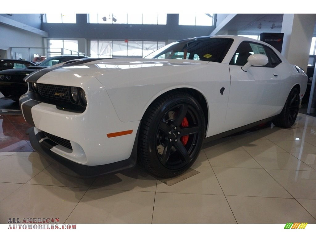 2017 dodge challenger srt hellcat in white knuckle for Steve white motors inc