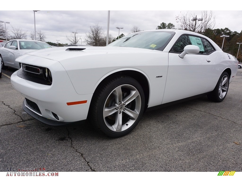 2017 Dodge Challenger R/T in White Knuckle - 522694 | All ...