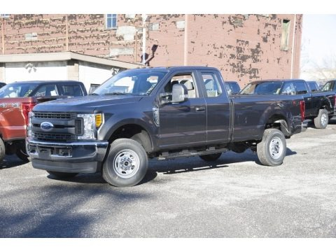 Magnetic 2017 Ford F350 Super Duty XL SuperCab 4x4