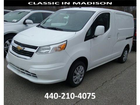 Designer White 2017 Chevrolet City Express LS