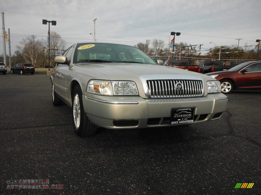 2010 Grand Marquis LS Ultimate Edition - Smokestone Metallic / Light Camel photo #1