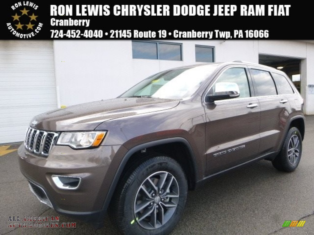 2017 jeep grand cherokee limited 4x4 in walnut brown metallic 707677 all american. Black Bedroom Furniture Sets. Home Design Ideas
