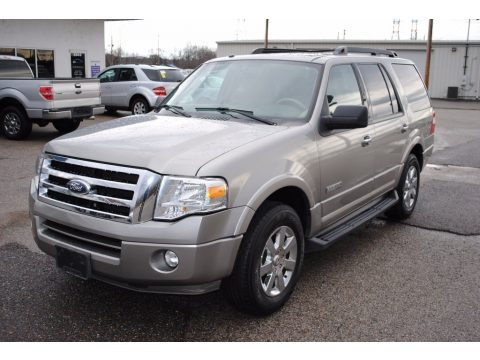 Vapor Silver Metallic 2008 Ford Expedition XLT
