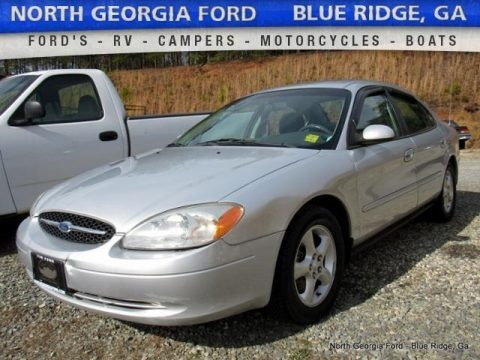 Silver Frost Metallic 2001 Ford Taurus SES