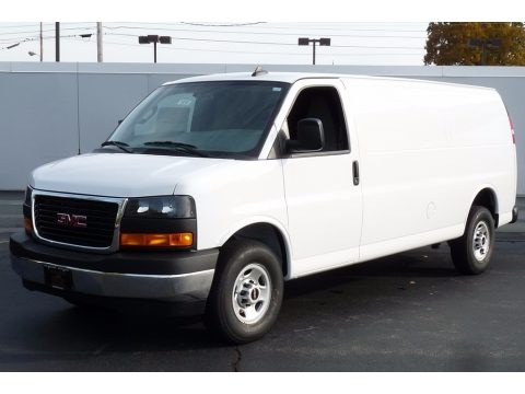 Summit White 2017 GMC Savana Van 3500 Cargo