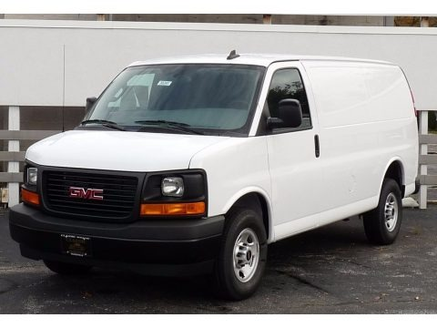 Summit White 2017 GMC Savana Van 2500 Cargo