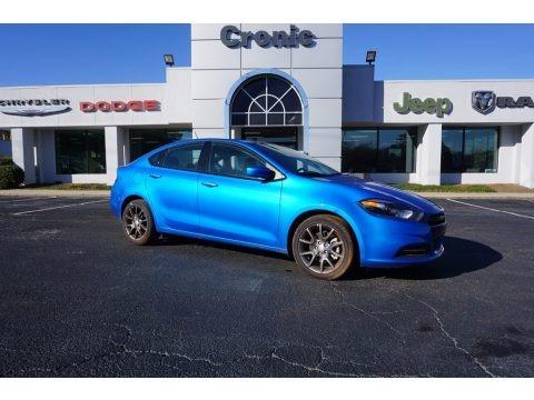 Laser Blue Pearl 2016 Dodge Dart SE