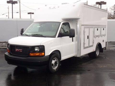 Summit White 2017 GMC Savana Cutaway 3500 Commercial Utility Truck