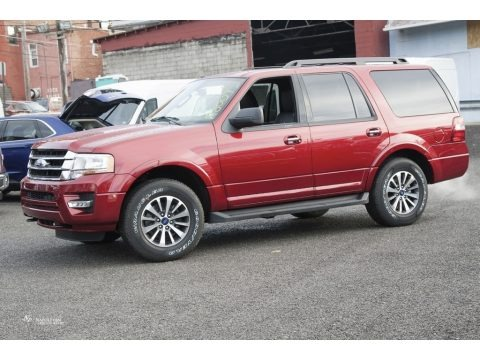 Ruby Red 2017 Ford Expedition XLT 4x4