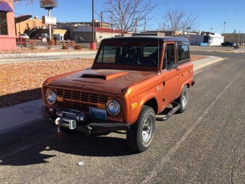 Copper 1973 Ford Bronco 4x4