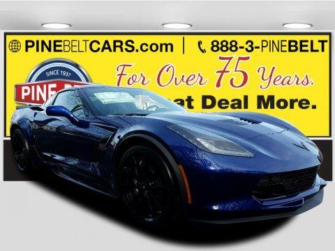 Admiral Blue 2017 Chevrolet Corvette Grand Sport Coupe