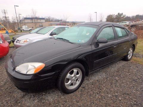 Black 2006 Ford Taurus SE