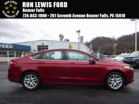 Ruby Red Metallic 2015 Ford Fusion SE