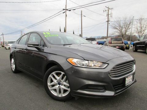 Magnetic Metallic 2015 Ford Fusion SE