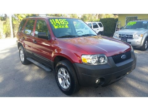 Redfire Metallic 2006 Ford Escape XLT V6 4WD
