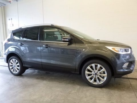 Magnetic 2017 Ford Escape Titanium 4WD