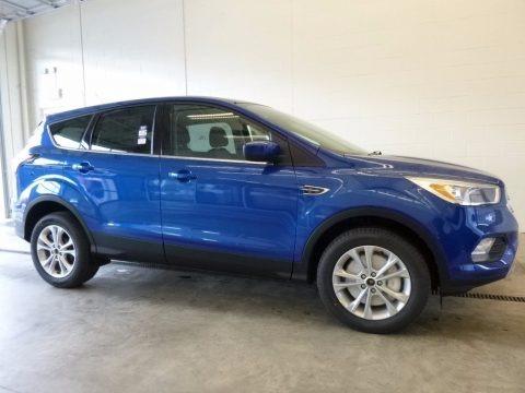 Lightning Blue 2017 Ford Escape SE 4WD