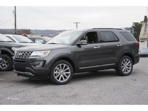 Magnetic 2017 Ford Explorer Limited 4WD