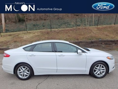 Oxford White 2015 Ford Fusion SE