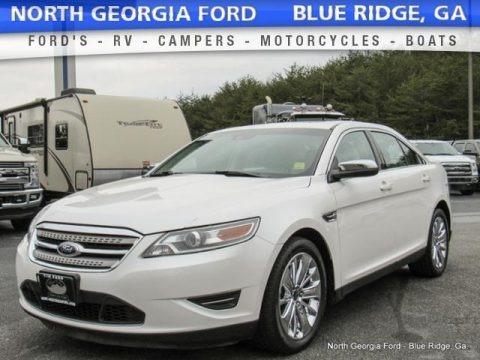 White Platinum Tri-Coat 2012 Ford Taurus Limited