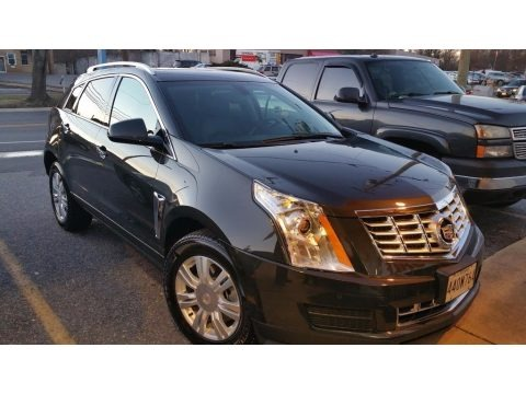 Graphite Metallic 2015 Cadillac SRX Luxury