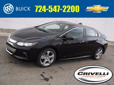 Mosaic Black Metallic 2017 Chevrolet Volt LT