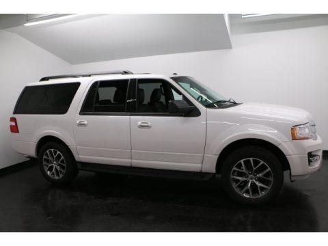 White Platinum 2017 Ford Expedition EL XLT 4x4