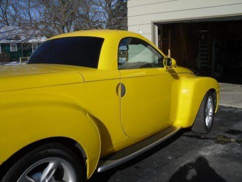 Slingshot Yellow 2004 Chevrolet SSR