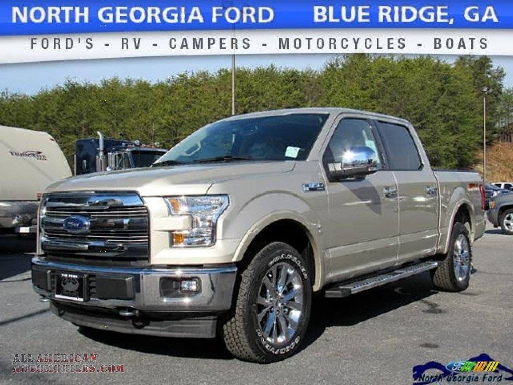 2017 ford f150 lariat supercrew 4x4 in white gold photo 17 a80990 all american automobiles. Black Bedroom Furniture Sets. Home Design Ideas