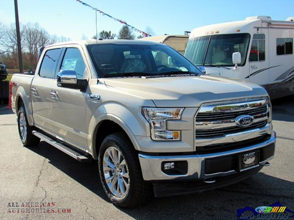 2017 ford f150 lariat supercrew 4x4 in white gold photo 8 a80990 all american automobiles. Black Bedroom Furniture Sets. Home Design Ideas
