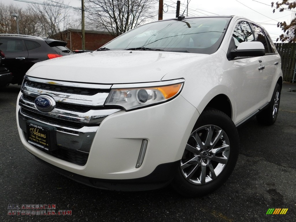 2011 ford edge sel awd in white platinum tri coat b29003. Black Bedroom Furniture Sets. Home Design Ideas