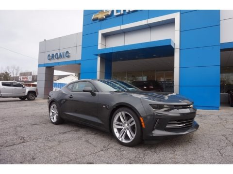 Nightfall Gray Metallic 2017 Chevrolet Camaro LT Coupe