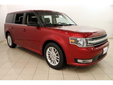 Ruby Red 2014 Ford Flex SEL