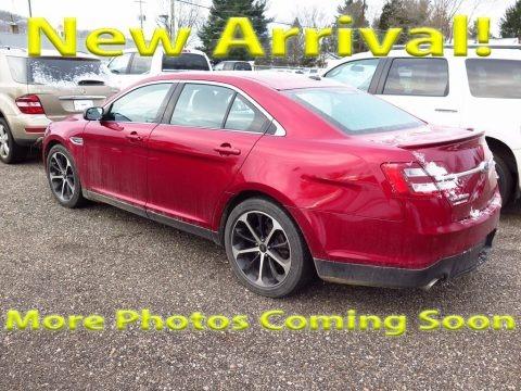 Ruby Red Metallic 2015 Ford Taurus SEL