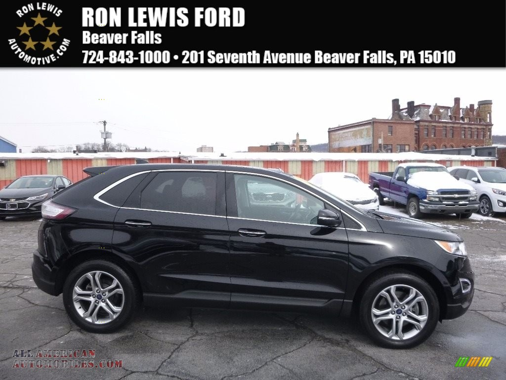Shadow Black / Ebony Ford Edge Titanium