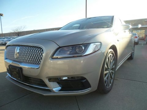 Palladium White Gold 2017 Lincoln Continental Select