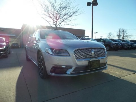 Ingot Silver 2017 Lincoln Continental Reserve