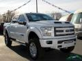 Ford F150 Tuscany FTX Edition Lariat SuperCrew 4x4 White Platinum photo #7