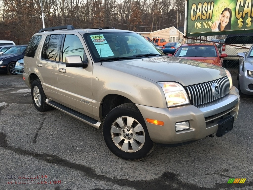 2007 Mountaineer AWD - Light French Silk Metallic / Camel photo #1