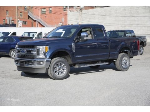 Blue Jeans 2017 Ford F250 Super Duty XLT SuperCab 4x4