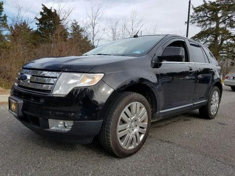Black 2008 Ford Edge Limited AWD