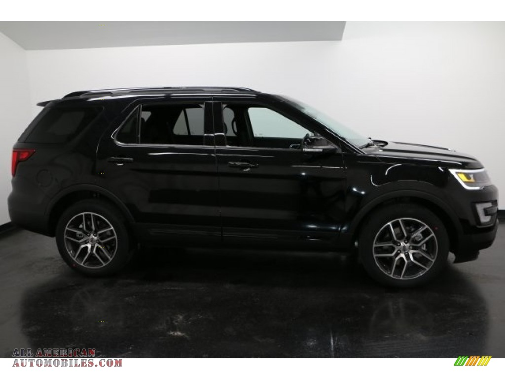 2017 Explorer Sport 4WD - Shadow Black / Ebony Black photo #1