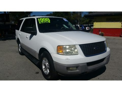Oxford White 2003 Ford Expedition XLT